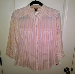 The North Face Snap Button shirt Size L